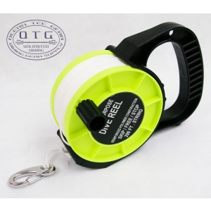 OTG Scuba Diving Heavy Duty Cave Wreck and Open Water Multi Purpose 290 Feet Dive Reel #OG-28
