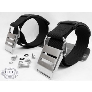 OTG Technical Scuba Diving SS STA with 2 SS Buckle Tank Bands #OG-38